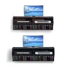 wall mounted av shelves wall mount center full image for wall mount floating media center