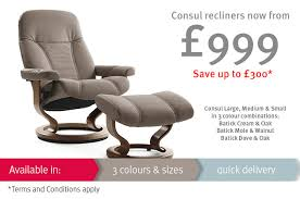 ekornes stressless recliners and reclining sofas from the back