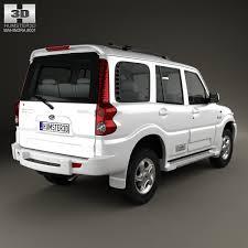 scorpio car new model 2013 3d model mahindra scorpio 2009 cgtrader