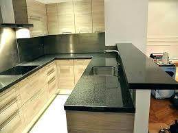 plan cuisine granit paillasse cuisine granit plan travail cuisine en en central plan de