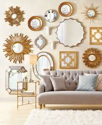 home decorators mirrors mirrors make a wall stand out so well love this gallery wall