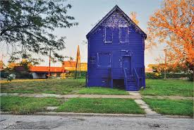 painted houses amanda williams paints chicago s vacant houses in bold colors