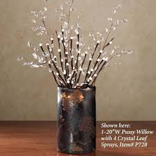 pre lit branches lit twigs in vase 25 gorgeous ways to use christmas lights
