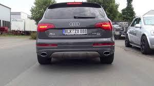 audi q7 w12 sound audi q7 v12 tdi sportauspuff sound by mariani car styling