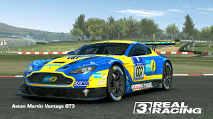 aston martin racing aston martin vantage gt3 real racing 3 wiki fandom powered by