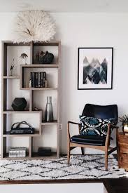 top 25 best interior design inspiration ideas on pinterest gorgeous shelf styling vignette with juju hat i love the neutrals and mid century modern
