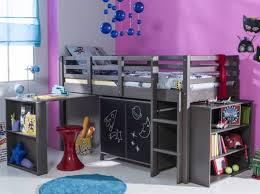 lit mezzanine enfant avec bureau chambre garcon lit superpose 14 lit mezzanine enfant avec