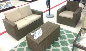 threshold patio furniture target outdoor wicker rocking chairs