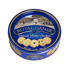 royal dansk butter cookies 12 ounce tins pack