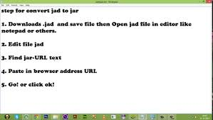 convert jad to apk jad to jar