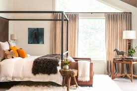 bedroom modern spacious bedroom features fascinating pink canopy modern bedroom features modern rustic canopy bed covered with a fluffy white quilt and dark brown