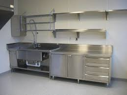 small stainless steel kitchen table stainless steel kitchen cabinets ikea cabriole leg extending small