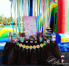 super colorful super colorful rainbow dessert table sweet city candy blog