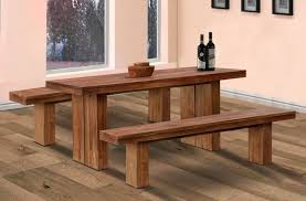 kitchen captivating narrow kitchen table set with bench featuring