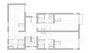 Apartment Block Floor Plans Concrete Tokyo Apartments With Chunky Steel Window Frames