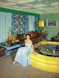Retro Living Room Art Cyd Charisse In Her Living Room 1950 Http Www Pinterest Com