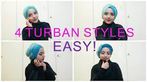 video tutorial turban style 4 easy turban tutorials inspired by yuna youtube