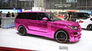 pink range rover in the fast lane with auto emporium sassy in pink