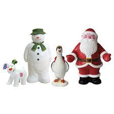 the snowman the snowdog cake topper set big bears box