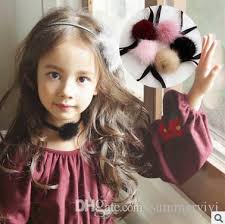 choker necklace girl images Kids choker necklace girls velvet choker necklace fashion kids fur jpg