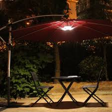 Solar Patio Table Lights by Patio Furniture Solartio Umbrella Lights Light Kit Only Amazon
