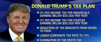 trump tax reform donald trump unveils his tax plan and it includes all americans