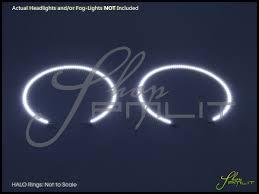 Ford Explorer Headlights - oracle 11 15 ford explorer led halo rings fog lights bulbs