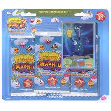 Halloween Moshi Monsters by Moshi Monsters Trading Cards 3 Pack Toys