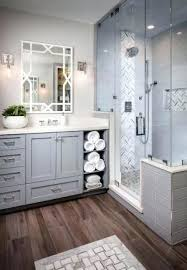 spa bathrooms ideas spa master bathroom shower with glass door master bath spa like