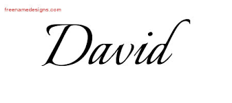 david archives free name designs