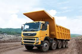 volvo dump truck volvo fm 480 10 4 rigid day cab with tipper body india u00272010 u201313