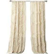 Wayfair Com Curtains White Ruffle Curtains Wayfair