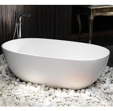 Stone Freestanding Bathtubs Waters Baths Cloud 1690mm X 820mm Double Ended Freestanding Stone