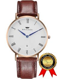 watches for men amazon com brigada swiss watches for men nice fashion cool black