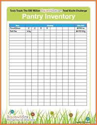 Kitchen Inventory Spreadsheet by 10 Food Pantry Inventory Spreadsheet Excel Spreadsheets