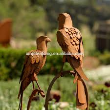 metal corten steel garden animal statue metal animal garden