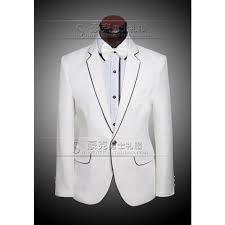 costume mariage blanc nouveau costume masculin formelles de mariage blanc costumes 2 015
