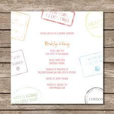 travel bridal shower invitations bridal shower invitations