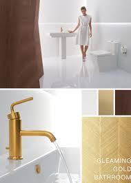 gleaming gold bathroom inspiration http bold kohler com tagged
