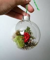 clear with filaments glass ornament glass ornaments