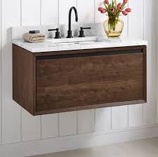 fairmont designs bathroom vanities m4 36 wall mount vanity walnut fairmont designs