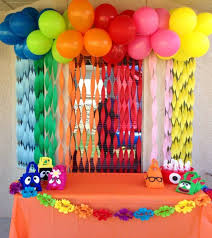 birthday decoration ideas at home cool instead of hiring a