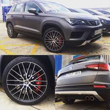 seat ateca black seat ateca cupra prototype is real gets photographed for first