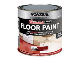 Ronseal Laminate Floor Seal Ronseal Dhfpwh25l 2 5l Diamond Hard Floor Paint White Amazon Co