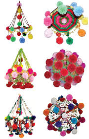 Yarn Chandelier by Pajaki These Would Make Really Fun Festive Decor For A Colorful