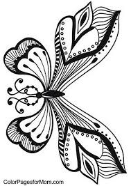 butterfly coloring pages 338 best birds butterflies bugs coloring for adults art pages