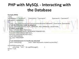 varchar date format php unit iv php and mysql php and web forms sending form data to a