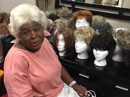 cancer society wigs with hair look for wigs help women leap one of cancer s obstacles university of