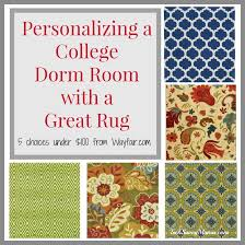 College Rug Personalizing A College Dorm Room With A Great Rug Under 100 W