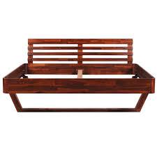 Schlafzimmerm El Aus Massivholz Vidaxl Akazie Bett Doppelbett Ehebett Massivholz Holzbett